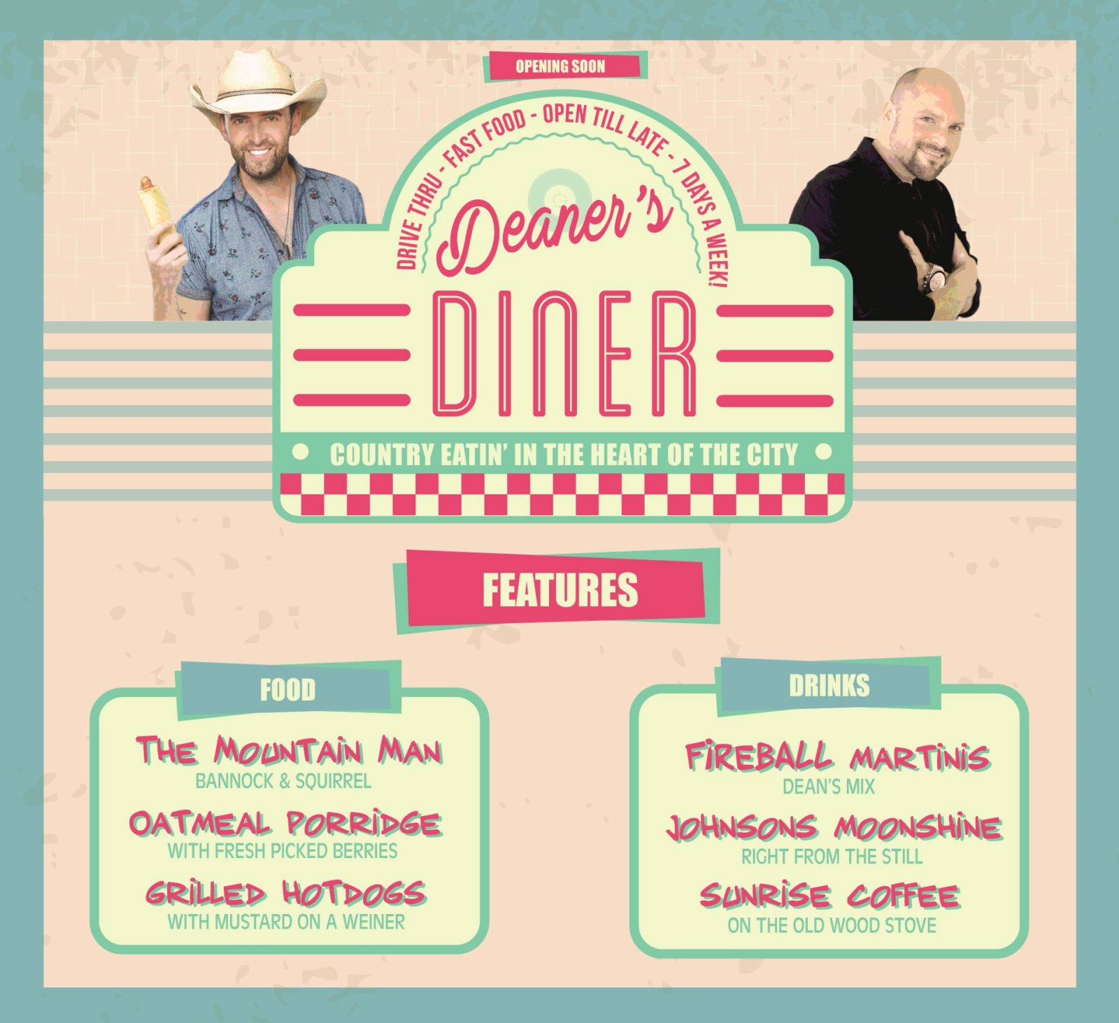 deanersdiner-features
