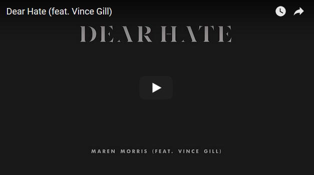 "[WATCH] Maren Morris drops ""Dear Hate"" in response to Las Vegas shooting"