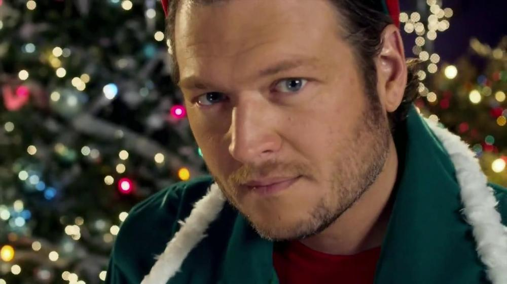 "Blake Shelton is back with another round of ""Cheers, It's Christmas"""