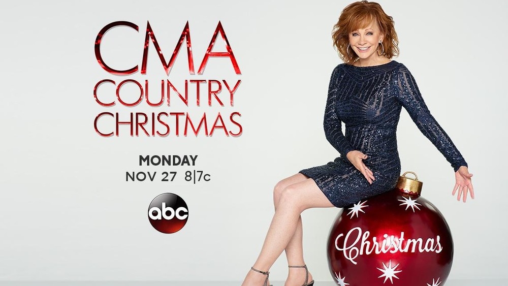 Reba McEntire will host the CMA Country Christmas Special on November 27th