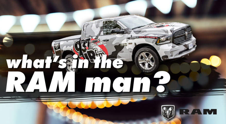 What's In The RAM Man?