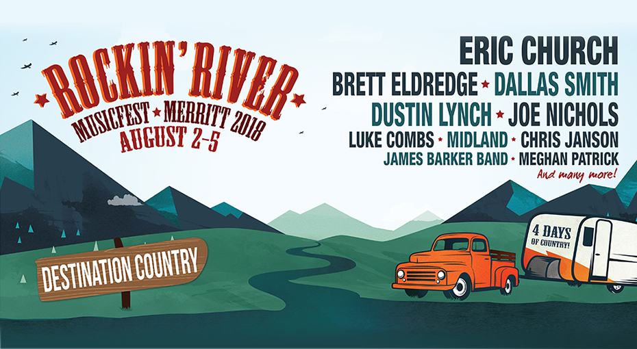 Win Passes To Rockin' River Music Fest