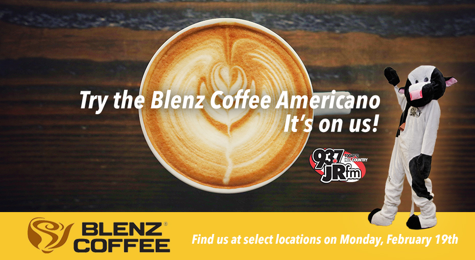 Try The Blenz Coffee Americano