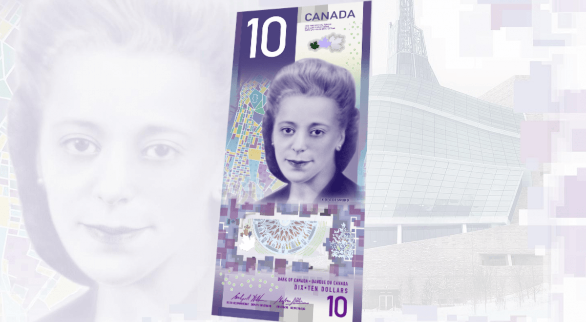What does Canada's new $10 bill have in common with Brett Eldredge?