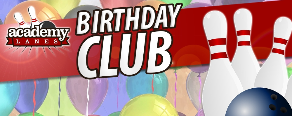 Win a kid's Birthday Party at Academy Lanes!
