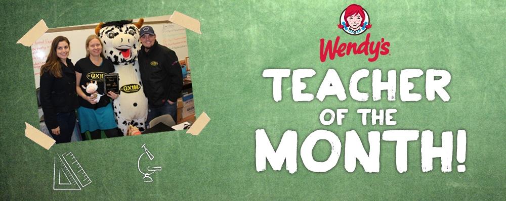 Tell us about an outstanding teacher!