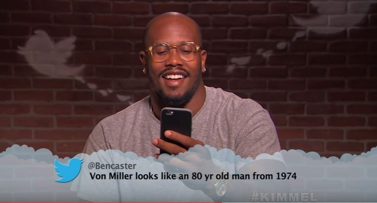 WATCH: New Celebrity Mean Tweets: NFL Edition #2