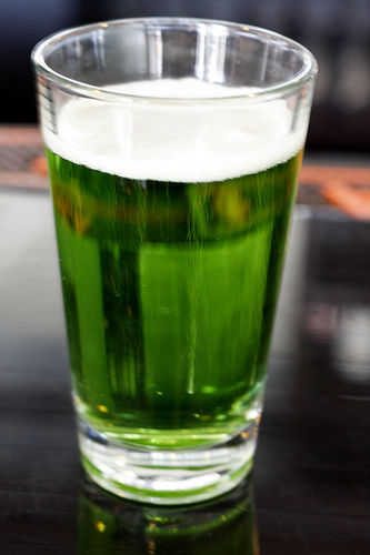 GREEN BEER, St Patrick's Day only, or All Year Round?