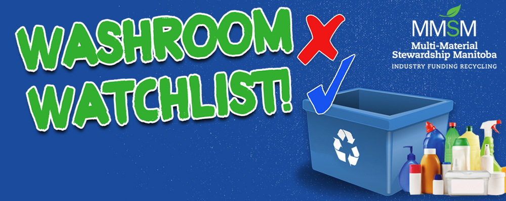 Tell us what can be recycled in your washroom!