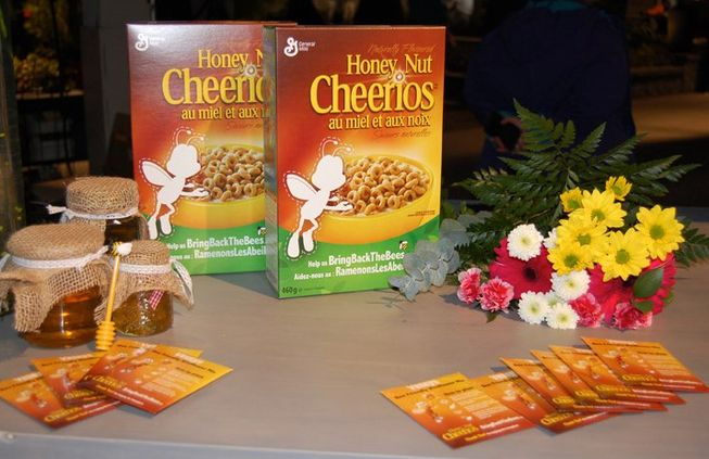 CHEERIOS  urges us  to plant some  Wildflowers....Bring back The BEES!