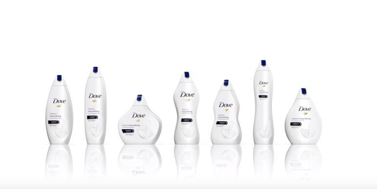 "Dove's New ""Body Type"" Bottles Are Being Mocked on Twitter"