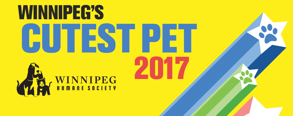 Nominate Your Pet for Winnipeg's Cutest Pet!