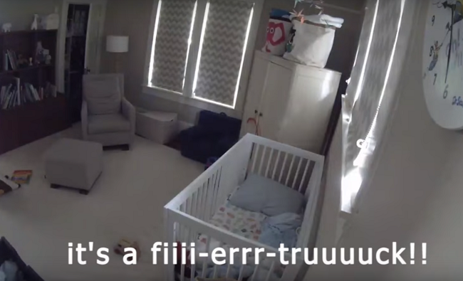 "WATCH: Toddler loses it because ""The Fire Truck is here!!"""