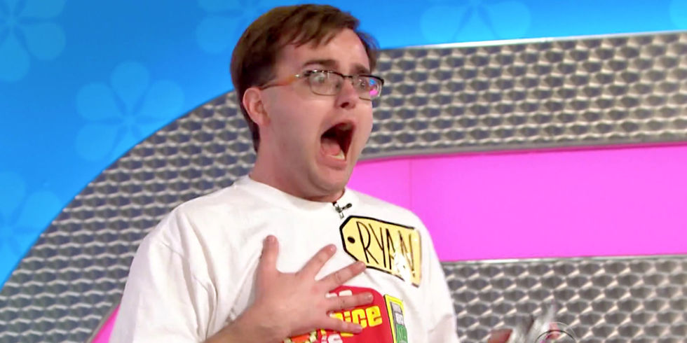 The most excited Price is Right contestant you've ever seen...EVER.