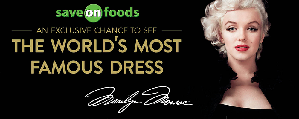 See the iconic dress at Save-on-Foods!