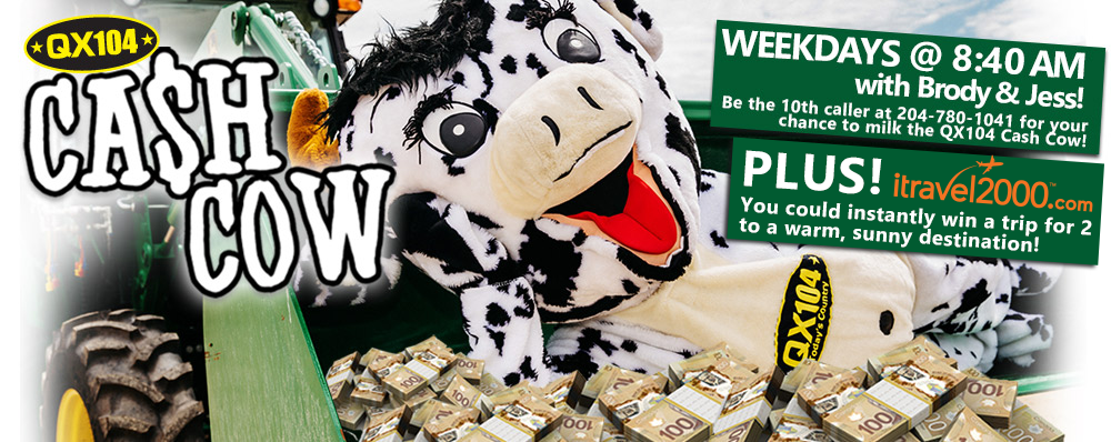 Win Cash & Trips with the QX104 Cash Cow!