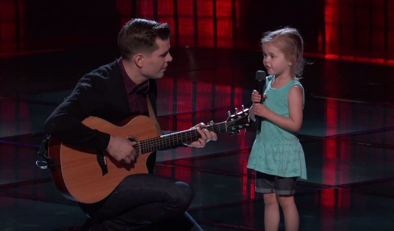 The purest thing you've ever seen on The Voice...seriously.