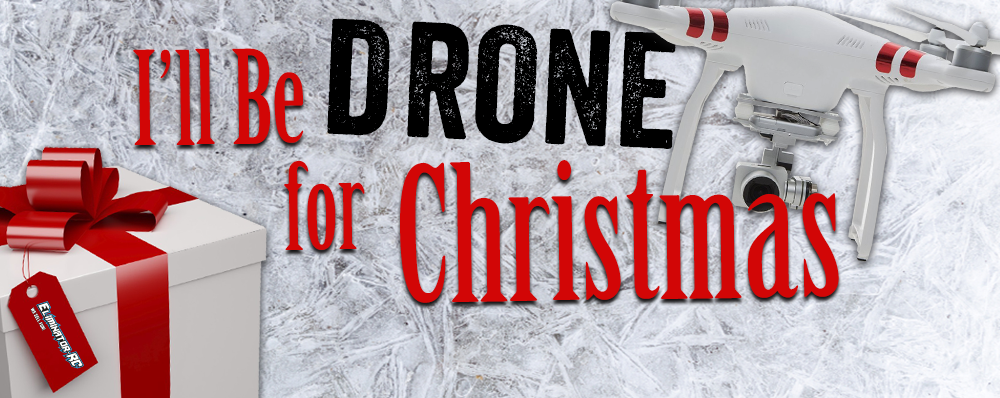 Win a Drone from Eliminator RC! Enter each day!