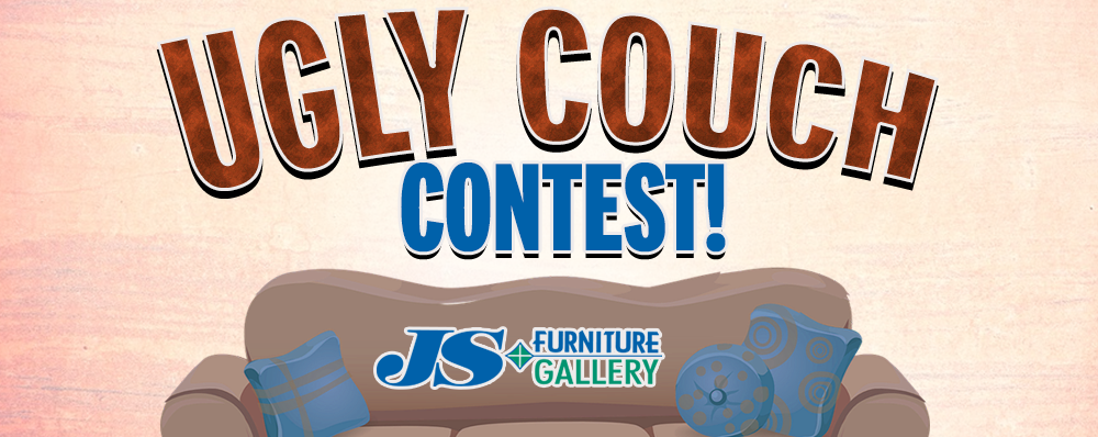 Send us a picture of your Ugly Couch to win!