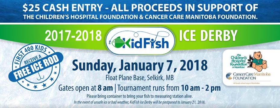 KidFish  is  coming. Join hundreds on the ice!