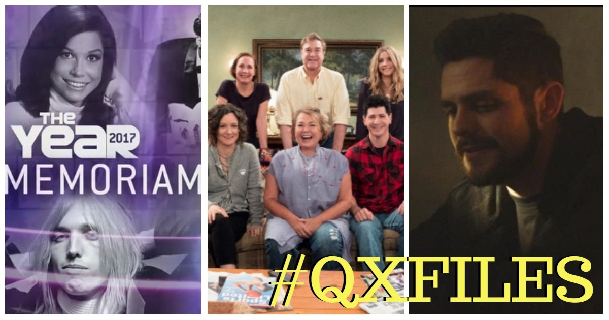 #QXFiles: Country Stars on TV Tonight, The Rosanne Reboot Has A Trailer & Release Date + Thomas Rhett has released the video for Marry Me.