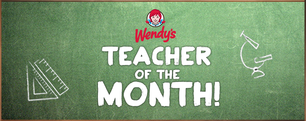 Nominate Your Teacher for 'Teacher of the Month!'