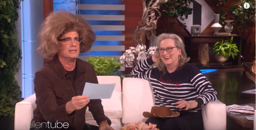Tom Hanks + Meryl Streep recreate eachother's iconic roles!