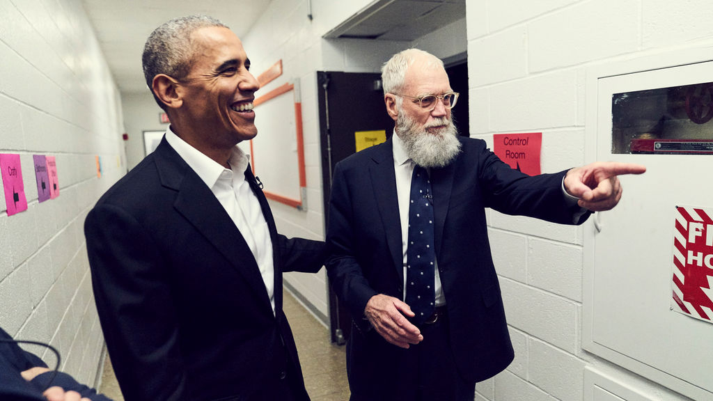 Letterman is back and ready to entertain!