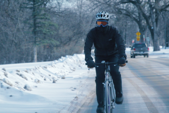 Minus 39 Wind-chills predicted and they'll ride their bicycles to work!