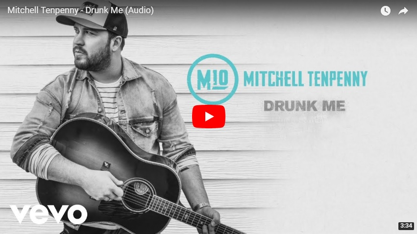 """New 2U at 2:02 Apr 13, 2018:  Would you add Mitchell Tenpenny """"Drunk Me"""" to your personal playlist"""