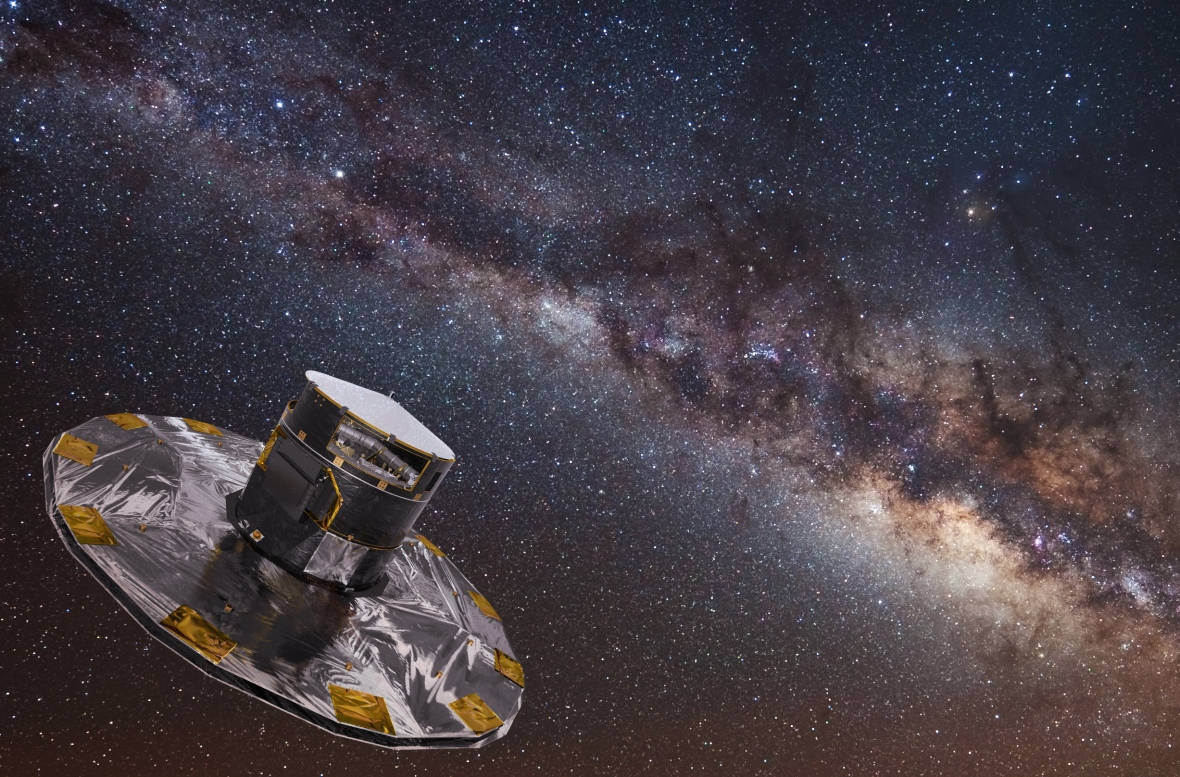 The Milky Way - never been seen before !