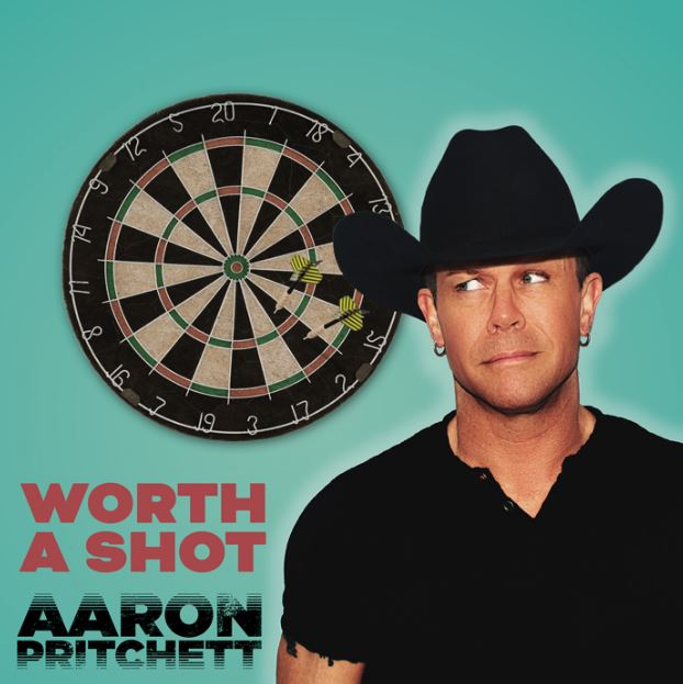 """New 2U at 2:02 May 14, 2018: Would you add Aaron Pritchett's """"Worth a Shot"""" to your personal playlist?"""