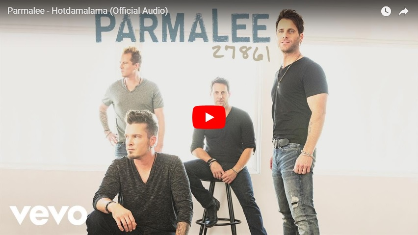 """New 2U at 2:02 May 7, 2018:  Would you add Parmalee """"Hot Damalama"""" to your personal playlist?..."""
