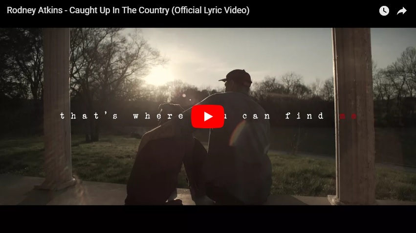 "New 2U at 2:02 May 8, 2018:  Would you add Rodney Atkins, ""Caught Up in the Country"" to your personal playlist?..."