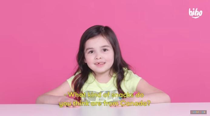 American Kids Try Canadian Snacks...