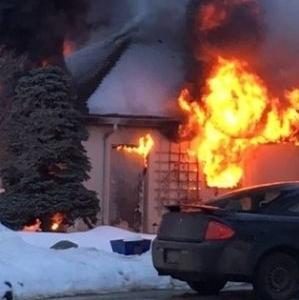 Damage Total For Middleton Garage Fire