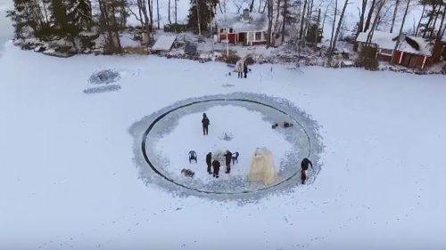 Ice Fun in Finland