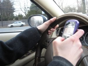 Distracted Driving Ticket Blitz