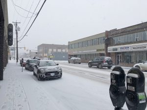 Snowy Weekend In Store