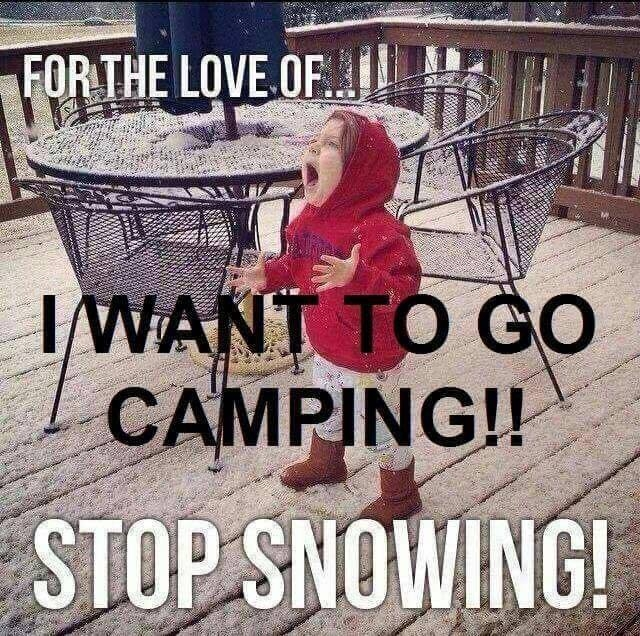 Not Sleeping? Go Camping!