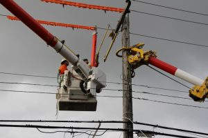BC Hydro Power Poles Being Replaced