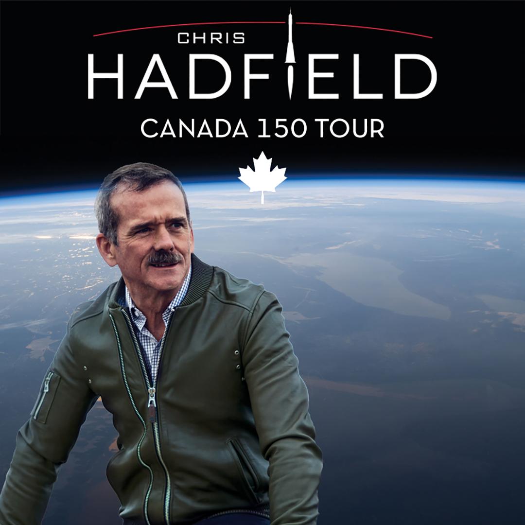 Chris Hadfield Returns to Vernon