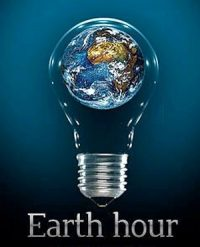 Earth Hour is Saturday Night