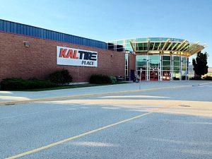 Parking Lot Added At Kal Tire Place