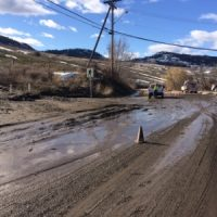 Update: Okanagan Avenue Debris Closure