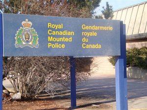 Armstrong RCMP Seek Suspicious Driver