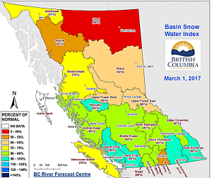 Snowpack On The Rise
