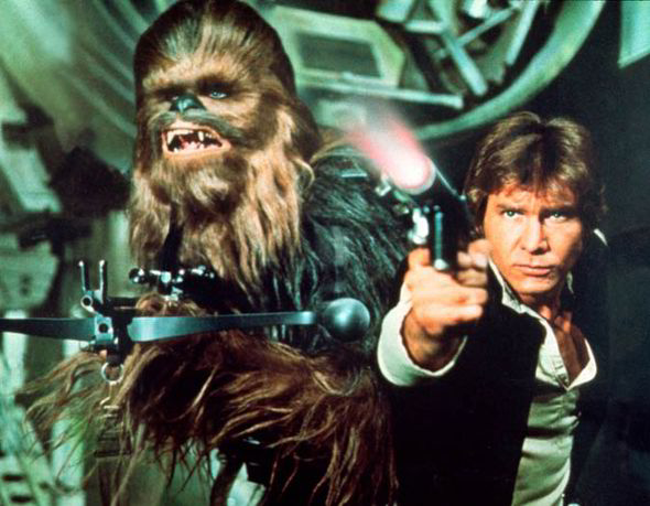 Which legend was nearly in 'Star Wars'?