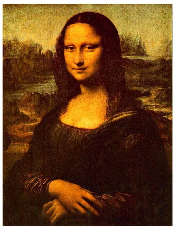 Once and for all...is Mona Lisa happy?