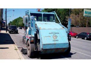 Street Sweeping Underway in Vernon